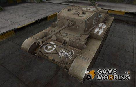 Зоны пробития контурные для Comet for World of Tanks