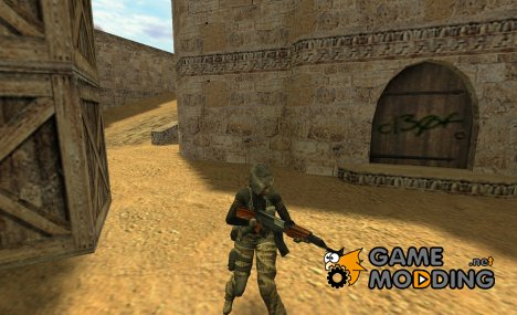 Girl Mercenary для Counter-Strike 1.6
