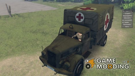 Opel Blitz for Spintires 2014