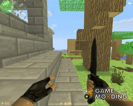 zm_minecraft для Counter-Strike 1.6