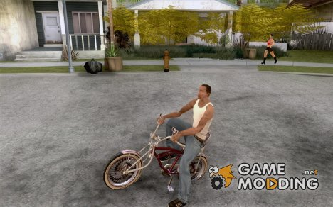 Lowrider Bicycle Custom Version для GTA San Andreas