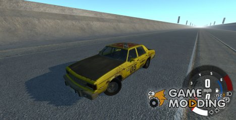 American Sedan v3 for BeamNG.Drive