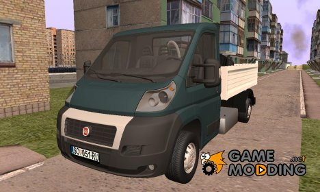 Fiat Ducato Pickup for GTA San Andreas