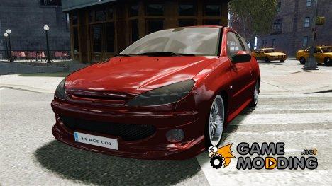 Peugeot 206 GTI для GTA 4