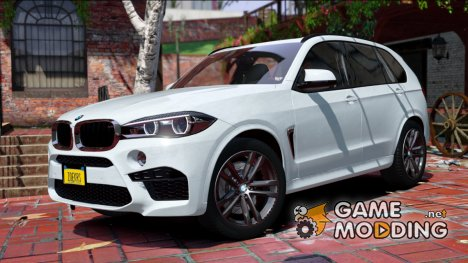BMW X5M 2017 FINAL for GTA 5