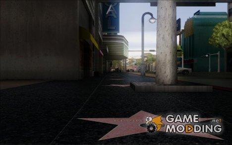 Вайнвудская Аллея славы для GTA San Andreas