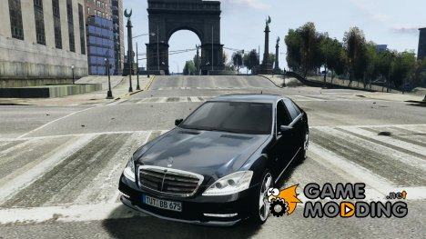 Mercedes-Benz S65 AMG 2011 for GTA 4
