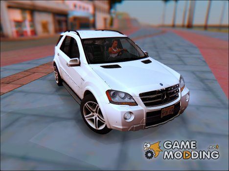 2009 Mercedes-Benz ML 63 AMG v2.0 для GTA San Andreas