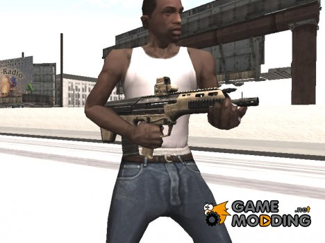 Micro Dynamic Rifle для GTA San Andreas