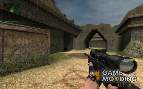 Black Awp(awm) V.1 for Counter-Strike Source