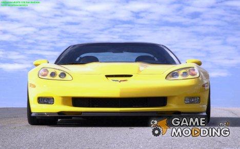 Загрузочные Экраны Chevrolet Corvette для GTA San Andreas