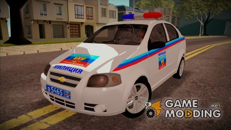 Chevrolet Aveo Милиция ЛНР for GTA San Andreas