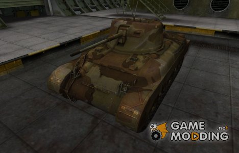 Шкурка для американского танка M7 for World of Tanks
