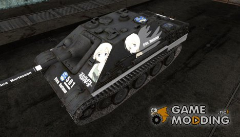 Аниме шкурка для JagdPanther для World of Tanks