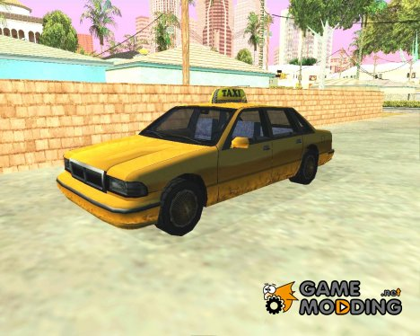 Taxi-New Texture for GTA San Andreas