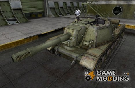 Ремоделлинг для ПТ-САУ СУ-152 for World of Tanks