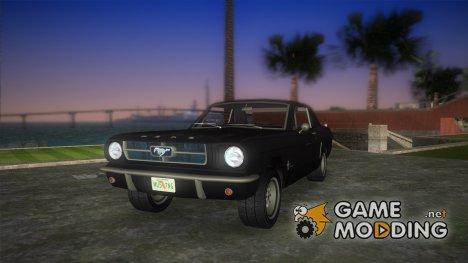 Ford Mustang 1965 для GTA Vice City