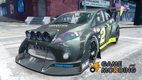 Ford Fiesta OMSE Hillclimb Special (DiRT3) от imtaj для GTA 4