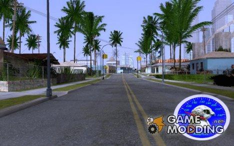 Спидометр с изображением ястреба для GTA San Andreas