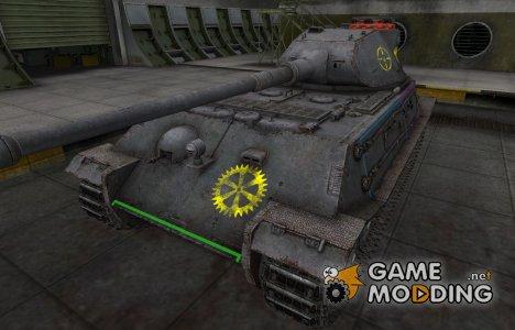 Контурные зоны пробития VK 45.02 (P) Ausf. B for World of Tanks