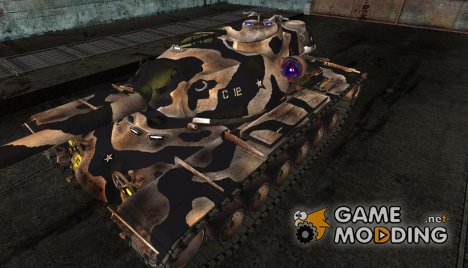 Шкурка для T110E5 for World of Tanks