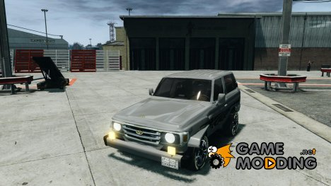 Toyota Land Cruiser 4.5 V2 для GTA 4