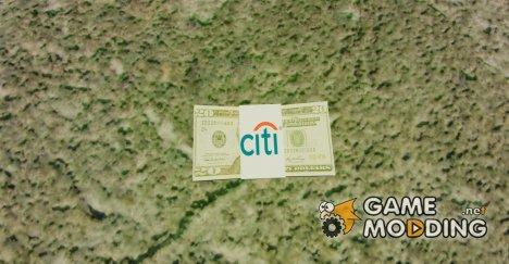 Денежные купюры США номиналом 20$ для GTA 4