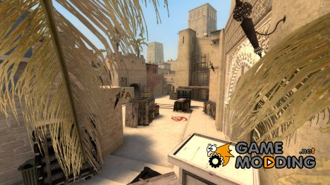 de_mirage_csgo для Counter-Strike Source