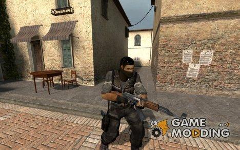 Urban Camo Terrorist for Counter-Strike Source