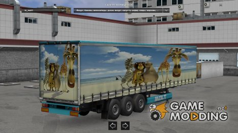 Disney Trailer Pack for Euro Truck Simulator 2