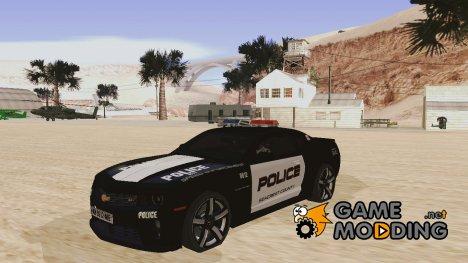 Chevrolet Camaro Police for GTA San Andreas
