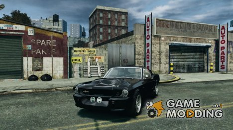 Shelby GT 500 Eleanor для GTA 4