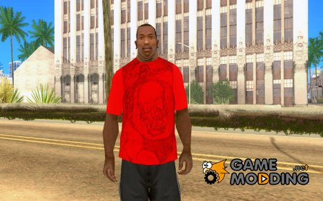 Футболка GEARS OF WAR для GTA San Andreas