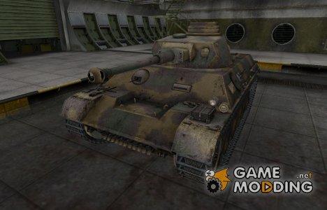 Исторический камуфляж PzKpfw III/IV for World of Tanks