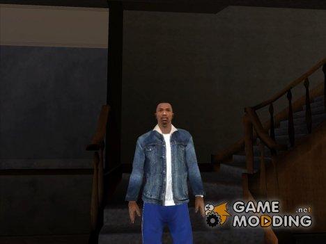 Джинсовая куртка Тревора GTA 5 for GTA San Andreas