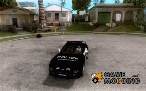 Mazda RX-7 FD3S Police для GTA San Andreas
