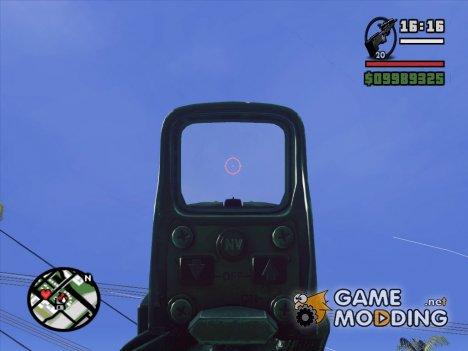 Sniper scope v3 для GTA San Andreas