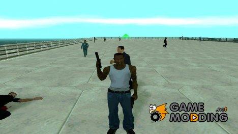 Пак Русского Оружия для GTA San Andreas