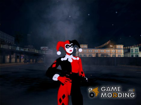 Harley Quinn Classic DLC From Batman - Arkham Knight для GTA San Andreas