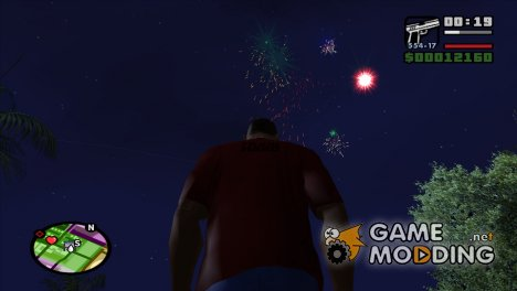 Firework Mod for GTA San Andreas