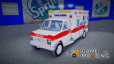 Ford Econoline 1986 Ambulance for GTA 3