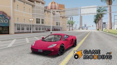 McLaren MP4-12C for GTA San Andreas