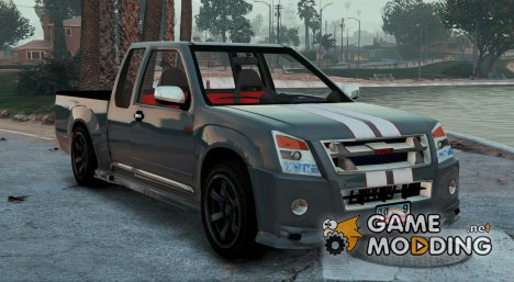 Isuzu D-Max X-Series 2010 for GTA 5