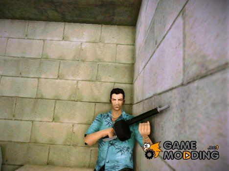 Automatic Shotgun (AA-12) из TBOGT for GTA Vice City