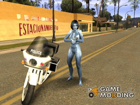 Halo Cortana для GTA San Andreas