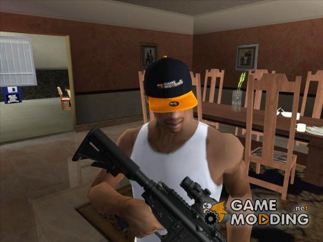 Кепка Gamemodding v2 для GTA San Andreas