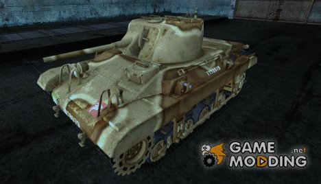 Шкурка для M22 Locust для World of Tanks