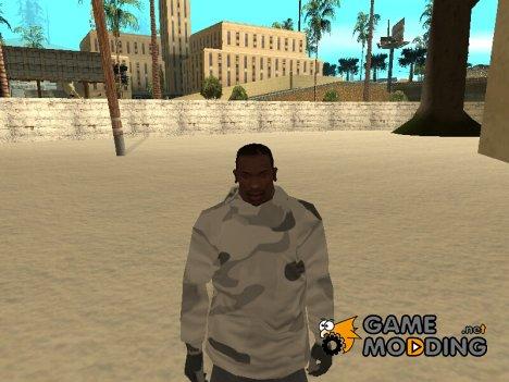 Зимний худи for GTA San Andreas