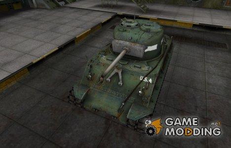 Исторический камуфляж M4A2E4 Sherman для World of Tanks