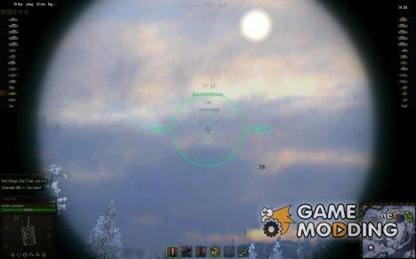 Снайперский прицел от marsoff 3 for World of Tanks